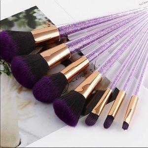 7pcs Crystal Makeup Brushes